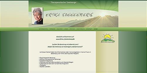 Therapeutische Seelsorge - Erika Sonnenberg